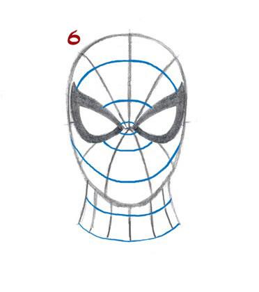 07. Как нарисовать человека паука начинающим