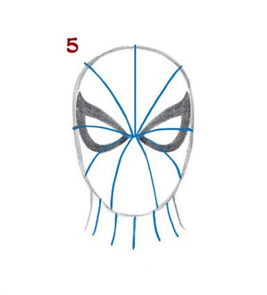 06. Как нарисовать человека паука начинающим