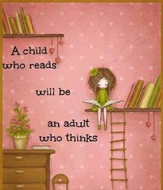 child who reads