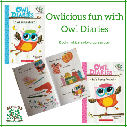 Owlicious fun withOwl Diaries