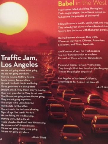 poetry traffic jam