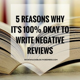 Why Negative Reviews Are Okay