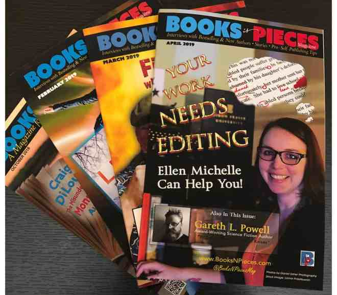 WIN A PRINTED SET OF BOOKS 'N PIECES MAGAZINE