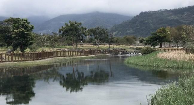 【知本景點】鮮為人知的美麗湖畔-台東大學、射馬干水利公園/3小時行程/台九線替代道路