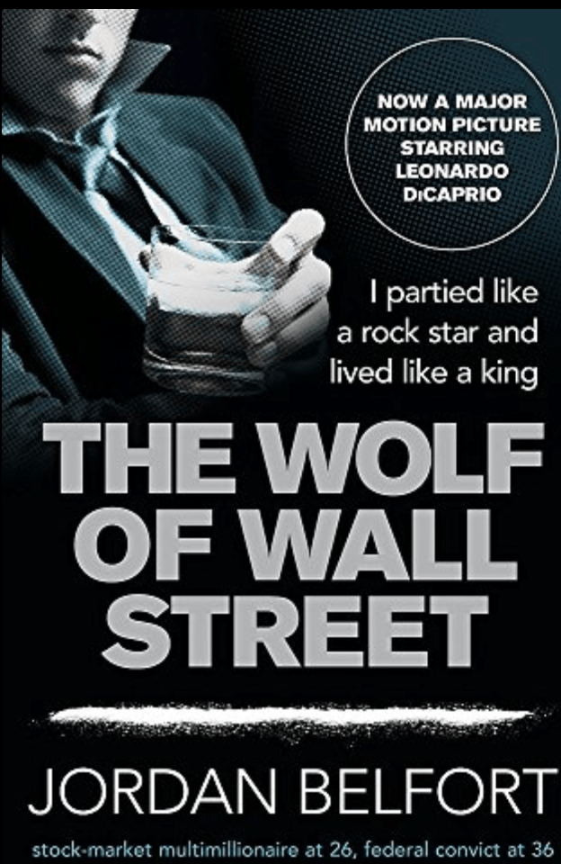 The Wolf of Wall Street book cover