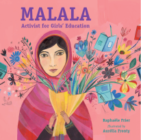 https://bookspoils.wordpress.com/2016/11/06/review-malala-by-raphaele-frier/