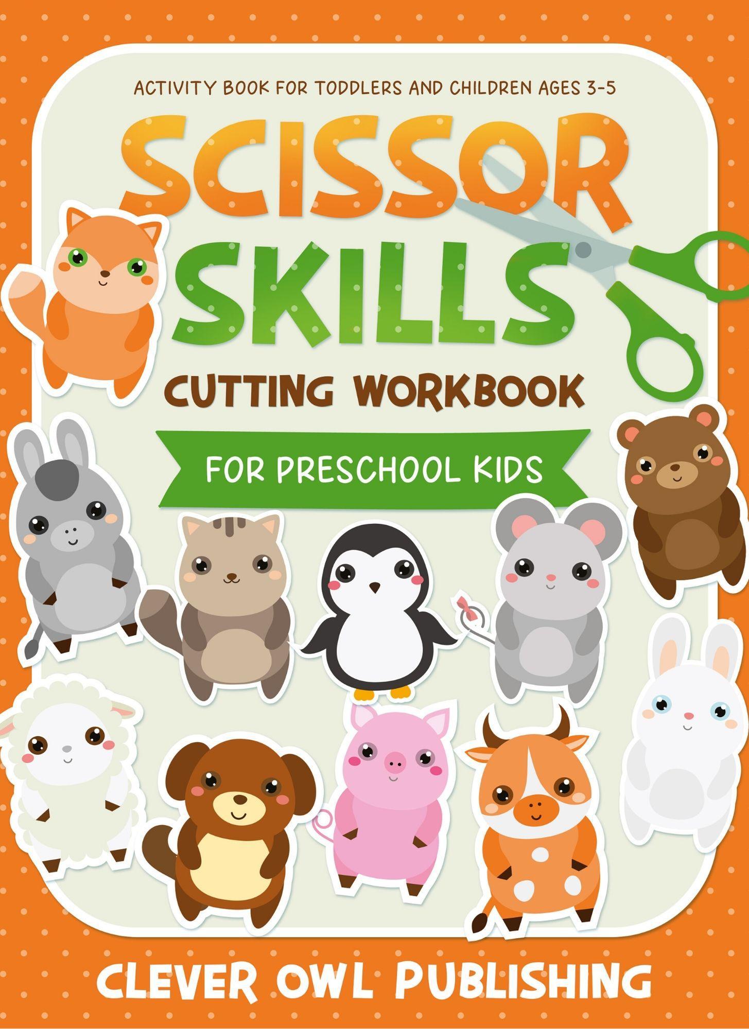 Get Your Free Copy Of Scissor Skills Cutting Workbook For