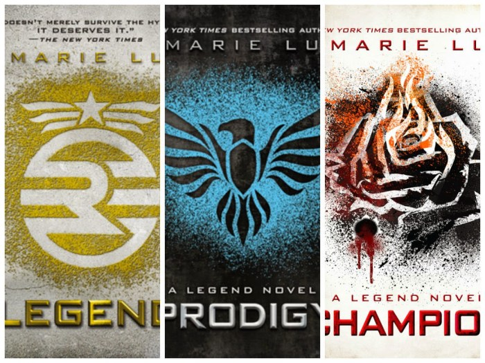 Legend Trilogy by Marie Lu
