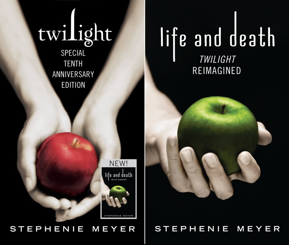 Twilight Tenth Anniversary Life and Death Covers