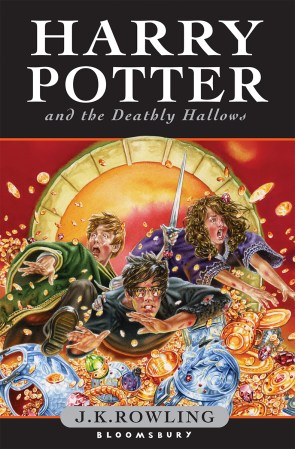 Deathly Hallows UK Cover