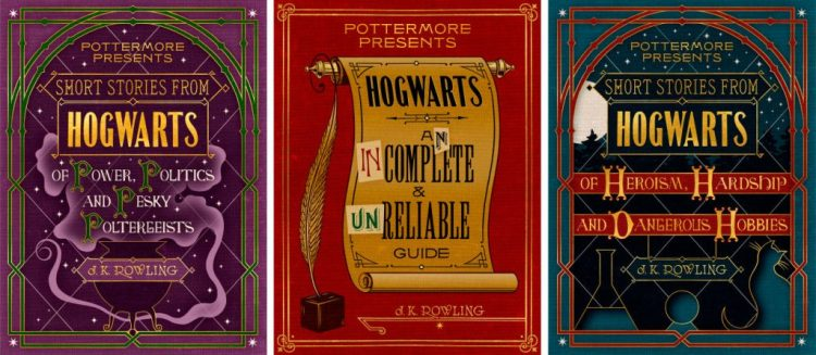 Pottermore Presents covers