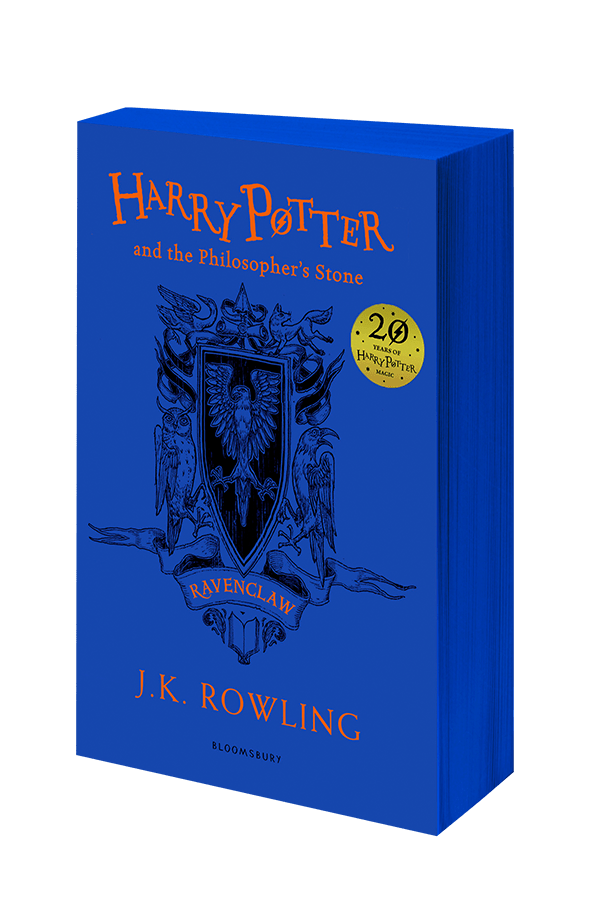 Philosopher S Stone Ravenclaw Cover Paperback Bookstacked