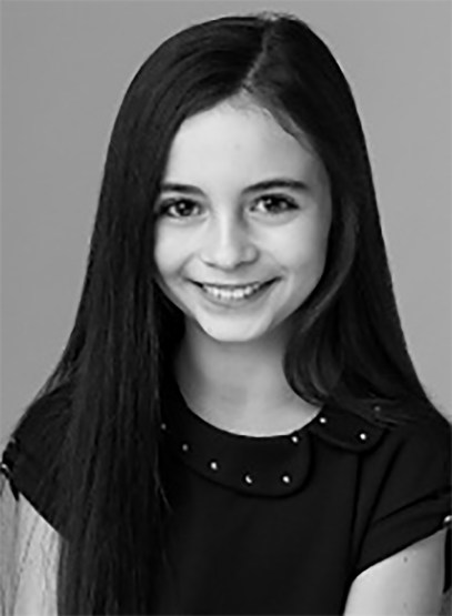 Lara McDonnell will play fan-favorite Holly Short. She's moving from stage to screen, having filled the title role of MATILDA. (Photo courtesy of the Lisa Richards Agency)