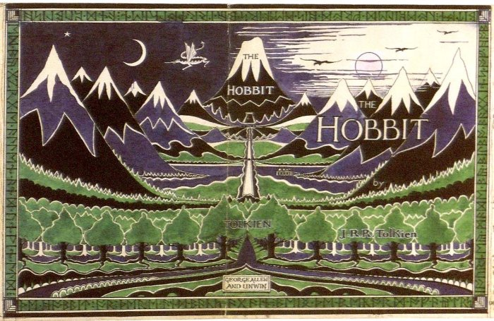 The Hobbit - Original dust jacket