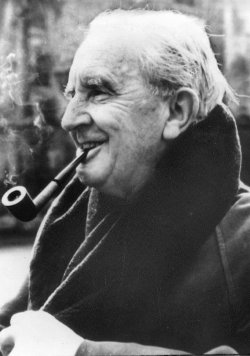 JRR Tolkien, author.