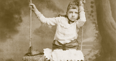 Photograph from the cover of 'A Map of Days' by Ransom Riggs