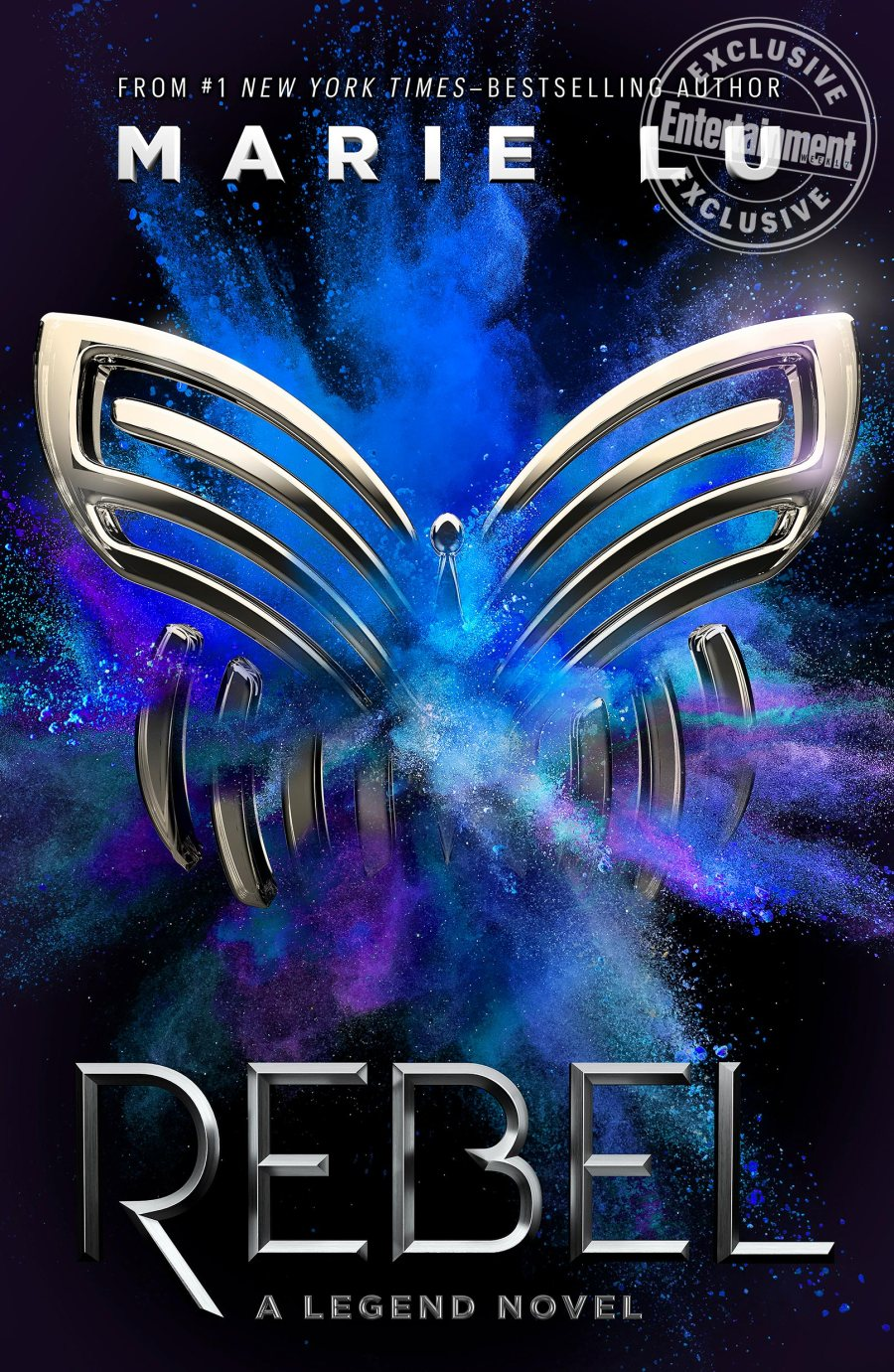 'Rebel' by Marie Lu book cover