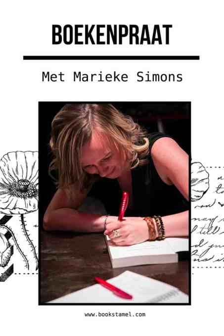 Boekenpraat met Marieke Simons