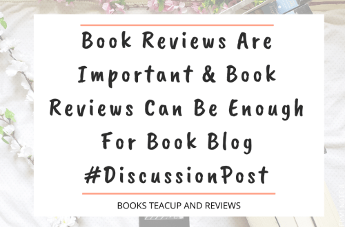 Book Reviews Can Be Enough For Book Blog