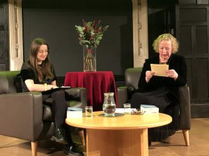 Lucy Ellmann at the Cambridge Literary Festival