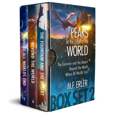 The Peaks Saga eBook Set 2, 5-7 by M.F. Erler
