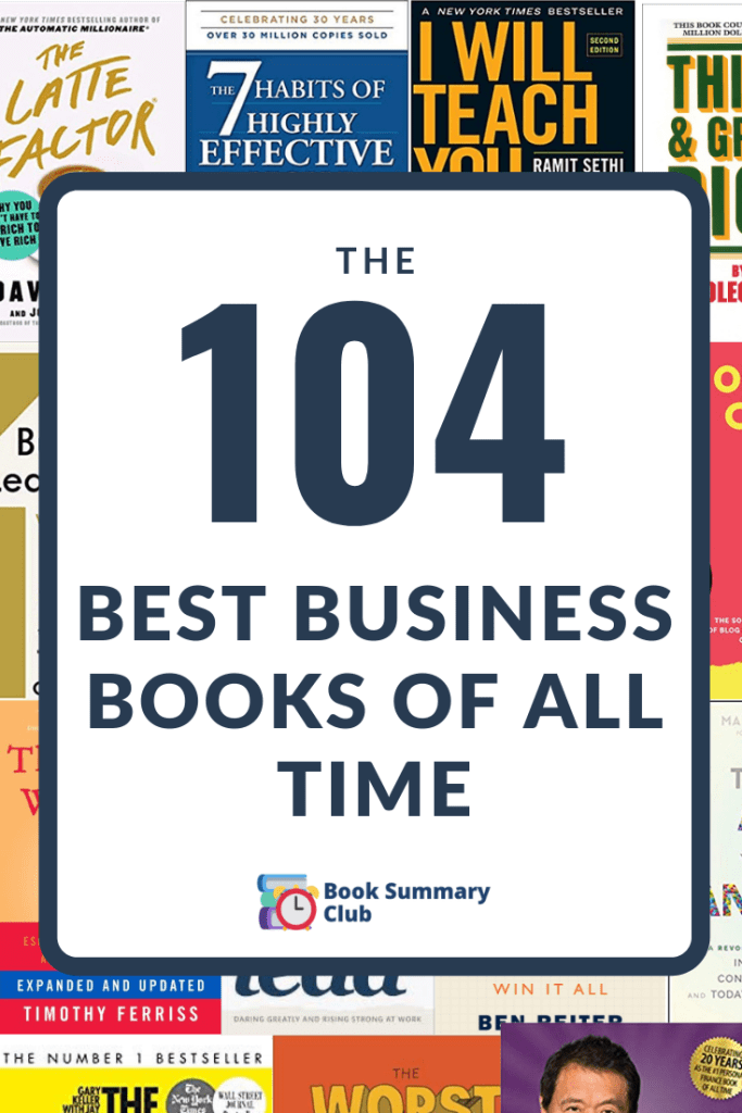 Check out this list of the 104 best business books of all time #business