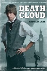 book cover of Death Cloud by Andrew Lane published by Farrar Straus Giroux