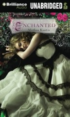 CD cover of Enchanted by Alethea Kontis read by Katherine Kellgren published by Brilliance Audio