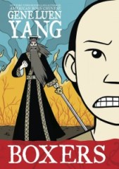 book cover of Boxers by Gene Luen Yang published by First Second Books