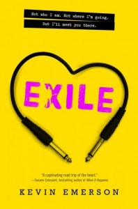 book cover of Exile by Kevin Emerson published by Katherine Tegen Books