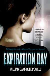 book cover of Expiration Day by WIlliam Campbell Powell published by Tor Teen