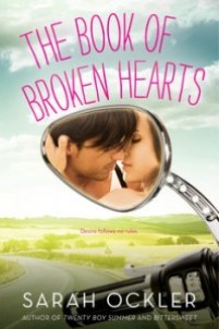 book cover of Book of Broken Hearts by Sarah Ockler published by Simon Pulse
