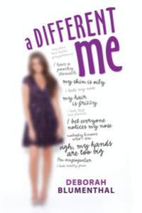 book cover of A Different Me by Deborah Blumenthal published by Albert Whitman
