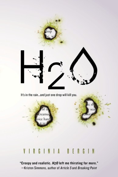 book cover of H2O by Virginia Birgin published by Sourcebooks Fire | recommended on BooksYALove.com