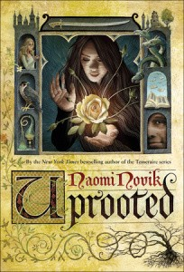 book cover of Uprooted by Naomi Novik published by Del Rey