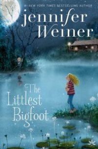 book cover of The Littlest Bigfoot by Jennifer Weiner published by Aladdin | recommended on BooksYALove.com