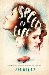 book cover of Speed of Life by JM Kelly published by Houghton Mifflin Harcourt BFYR  | recommended on BooksYALove.com