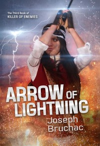 book cover of Arrow of Lightning by Joseph Bruchac published by Lee and Low  | recommended on BooksYALove.com