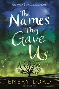 book cover of Names They Gave Us by Emery Lord published by Bloomsbury | recommended on BooksYALove.com