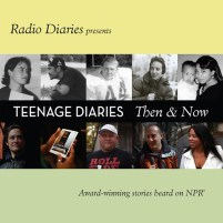 CD cover of Teenage Diaries Then and Now by Radio Diaries | Read by Hosted by Joe Richman Published by HighBridge Audio | recommended on BooksYALove.com