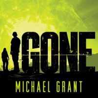 CD cover of Gone (Gone, book 1) by Michael Grant | Read by Kyle McCarley Published by Tantor Media | recommended on BooksYALove.com