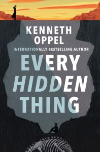 book cover of Every Hidden Thing by Kenneth Oppel published by Simon & Schuster BFYR | recommended on BooksYALove.com