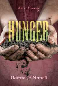 book cover of Hunger by Donna Jo Napoli, published by Simon Schuster BFYR | recommended on BooksYALove.com