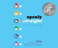 CD cover of Openly Straight, by Bill Konigsberg | Read by Pete Cross Published by Dreamscape Media | recommended on BooksYALove.com