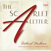 CD cover of The Scarlet Letter, by Nathaniel Hawthorne | Read by Donada Peters Published by Listening Library | recommended on BooksYALove.com