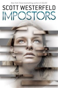 book cover of Impostors by Scott Westerfeld, published by Scholastic | recommended on BooksYALove.com