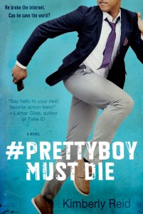 book cover of Prettyboy Must Die, by Kimberly Reid. Published by Tor Teen | recommended on BooksYALove.com