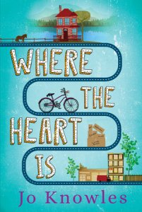 book cover of  Where the Heart Is, by Jo Knowles. Published by Candlewick | recommended on BooksYALove.com