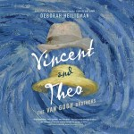 CD cover of Vincent and Theo,  by Deborah Heiligman | Read by Philip Fox Published by Dreamscape Media  | recommended on BooksYALove.com