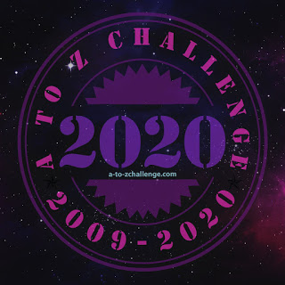 2020 logo for a-to-zchallenge.com